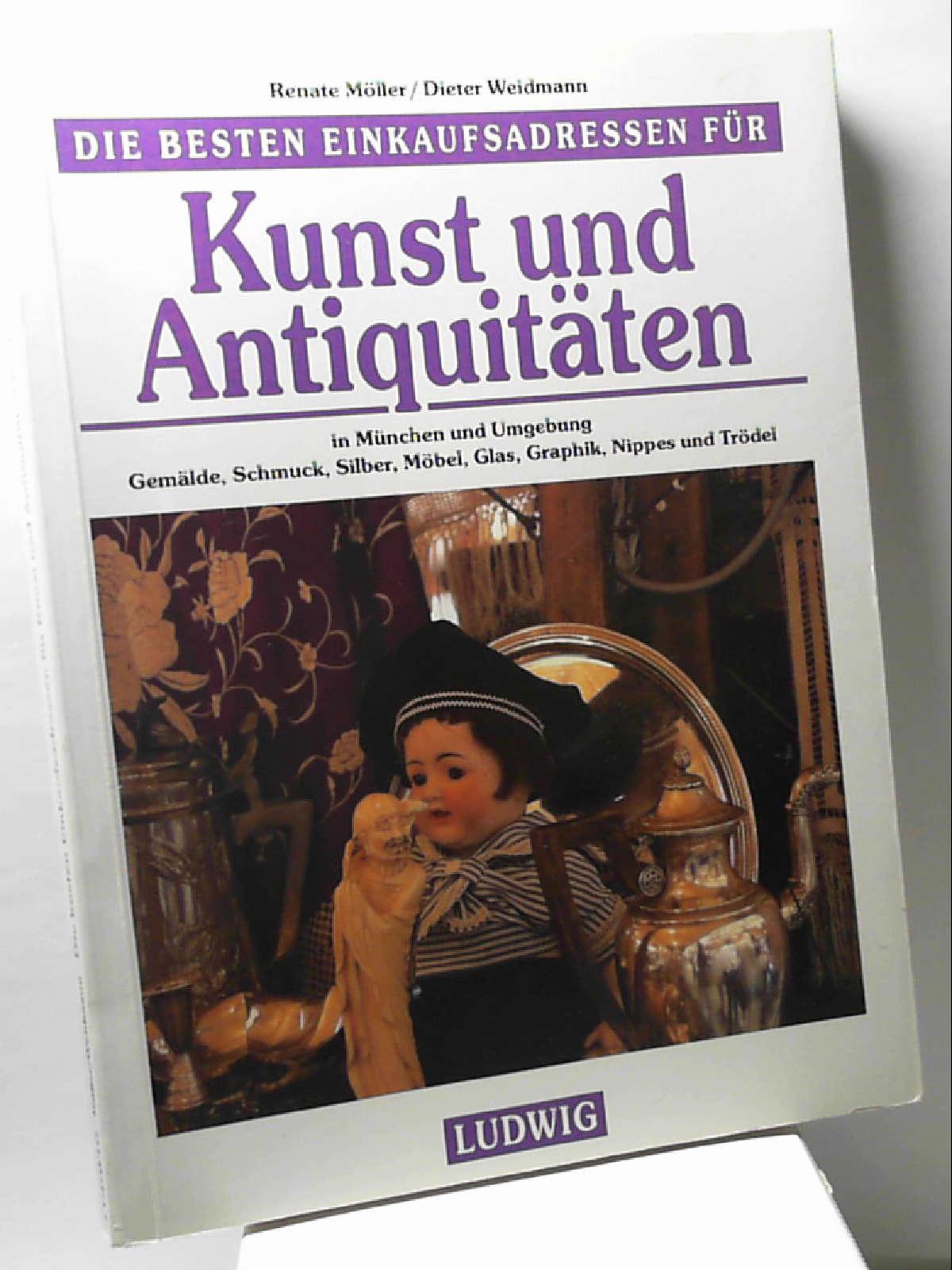 Kunst und Antiquitäten in München und Umgebung [Paperback] Dieter Weidmann Renate M?ller