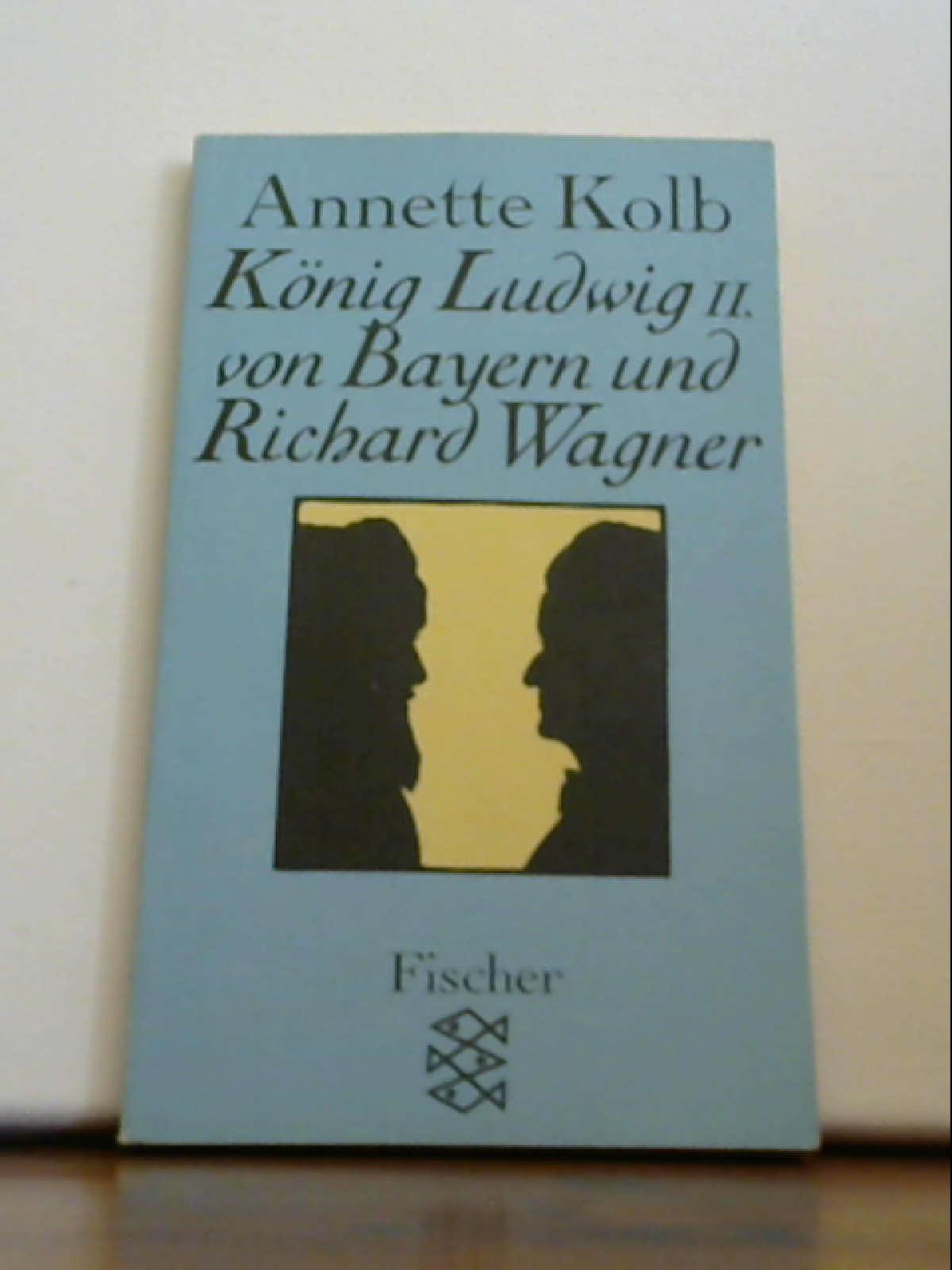 König Ludwig II. von Bayern und Richard Wagner. [Broschiert] unbekannt - unbekannt